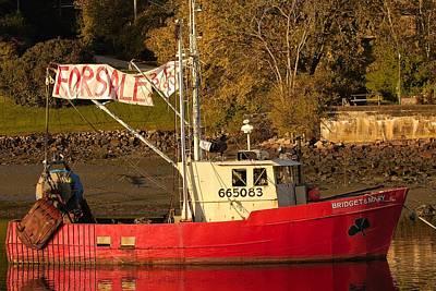Lobster Boat For Sale Poster