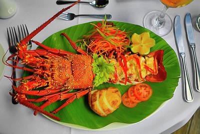 Lobster, Fiji Poster
