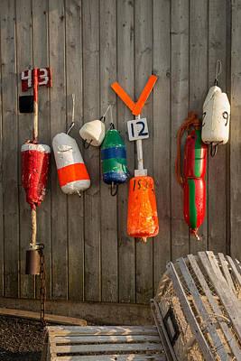 Lobster Fishing Gear Poster by Kasandra Sproson