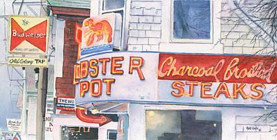 Lobster Pot II Poster by Heidi Gallo