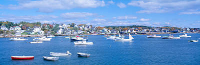 Lobster Village, Northeast Harbor Poster by Panoramic Images