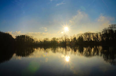 Loch Alsh At Sunrise - Ambler Pa Poster