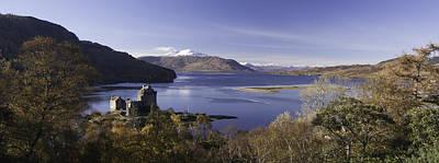 Loch Alsh To Skye Poster by Chris Mason