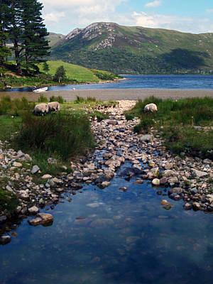Loch Ba Poster by Steve Watson
