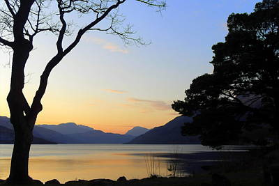 Loch Lomond Sunset Poster by The Creative Minds Art and Photography