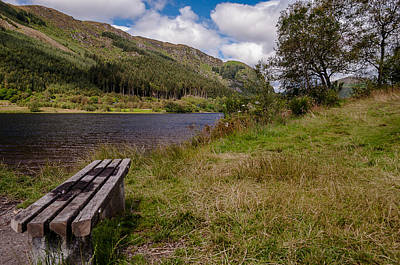 Poster featuring the photograph Loch Lubnaig by Sergey Simanovsky