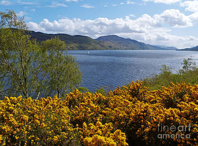 Loch Ness - Springtime Poster