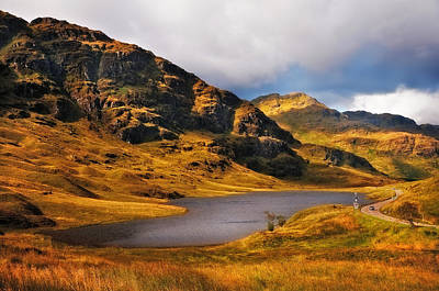 Loch Restil. Rest And Be Thankful. Scotland Poster