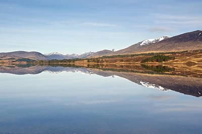 Loch Tulla In Spring Poster