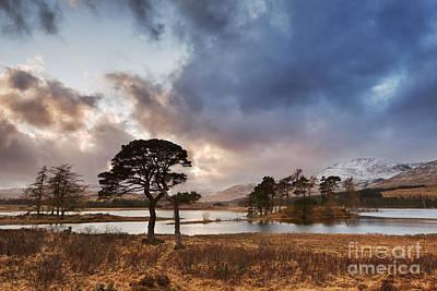 Loch Tulla Poster by Rod McLean