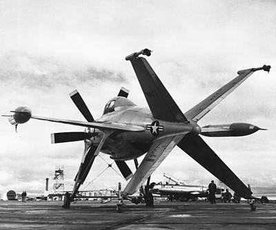 Lockheed's Vtol Aircraft Poster