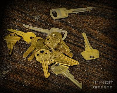 Locksmith - Rejected Keys Poster by Paul Ward