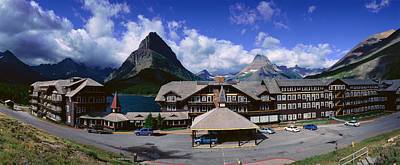 Lodge At Many Glacier, Glacier National Poster by Panoramic Images