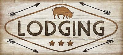 Lodging Poster by Jennifer Pugh