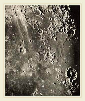 Loewy Et Puiseux French, 1833-1907, Photographie Lunaire Poster by Litz Collection