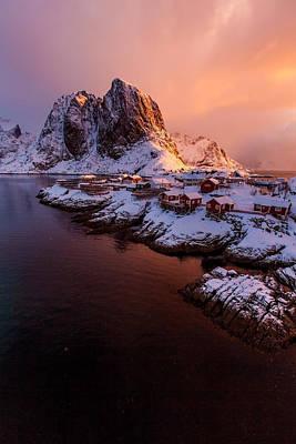 Lofoten Landscape Poster