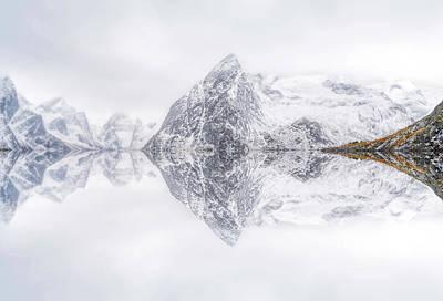 Lofoten Reflection Poster