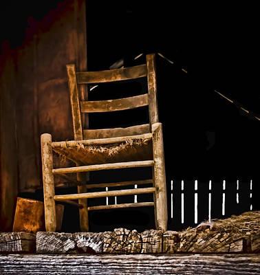Loft Chair 2 Poster by Greg Jackson