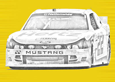 Logano's Nationwide Poster