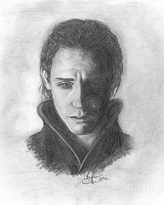 Loki Poster by Christine Jepsen