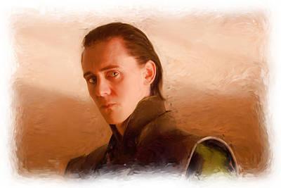 Loki Poster by Martin Bailey