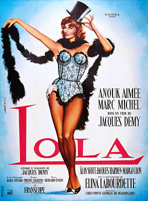 Lola, French Poster Art, Anouk Aimee Poster by Everett