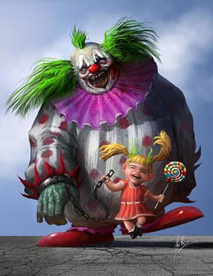 Lollipop Poster by Alex Ruiz