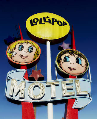 Lollipop Motel Poster by Mountain Dreams