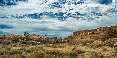 Lomaki Pueblo In Box Canyon Poster