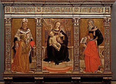 Lombardi Marco, Giovanni Antonio Da Poster by Everett