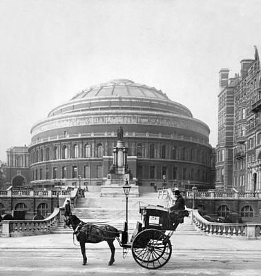 London Albert Hall, C1904 Poster