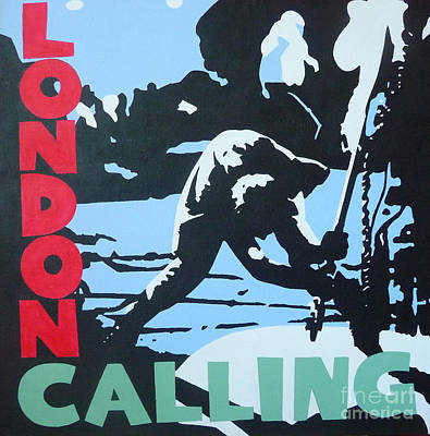 London Calling Poster by ID Goodall