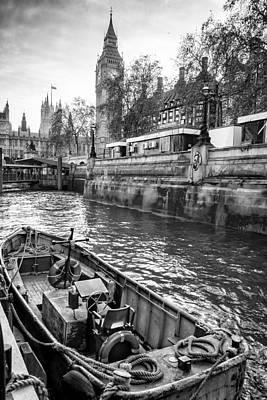 London Dock Poster by Glenn DiPaola