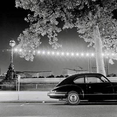 Porsche In London Poster by Shaun Higson