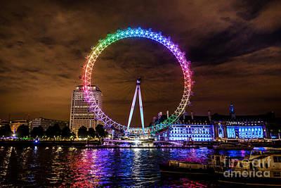 London Eye Pride Poster by Matt Malloy