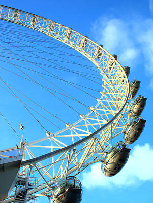 London Eye Poster by Rachel Mirror