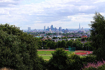 London From Parliament Hill Poster by Nicky Jameson