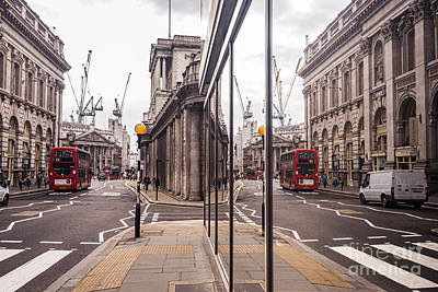 London Reflected Poster by Matt Malloy