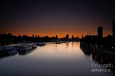 London Sunrise Poster