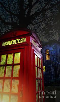 London Tardis Poster