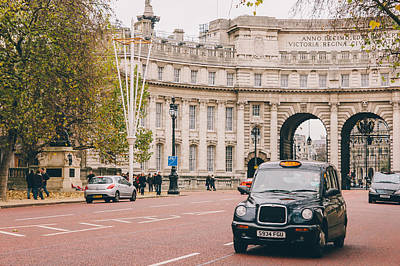 London Taxi Poster by Pati Photography