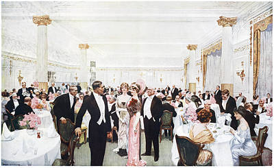 London The Berkeley, 1912 Poster by Granger