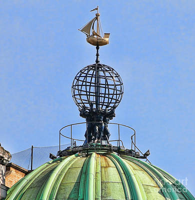 London Weathervane 5243 Poster by Jack Schultz
