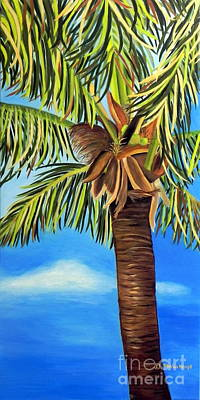 Lone Palm Poster by Shelia Kempf