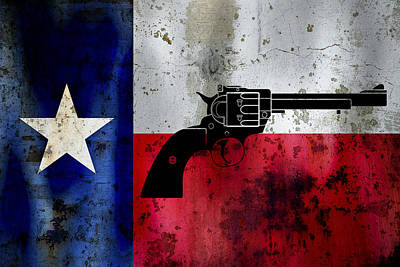 Lone Star Revolver Poster