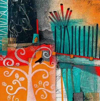 Lonecrow Spirit  Poster by Laura  Lein-Svencner
