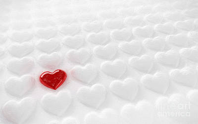 Lonely Heart Poster by Carsten Reisinger