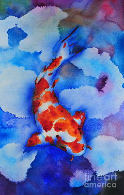 Lonely Koi Poster