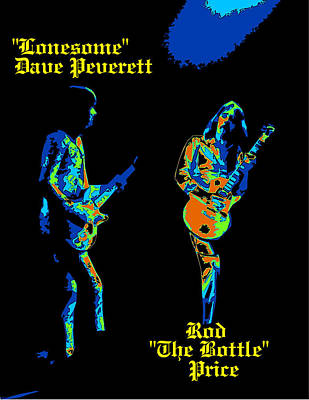 Lonesome Dave And Bottle Rod Poster