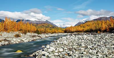 Long Exposure Of Granite Creek Poster by Ray Bulson
